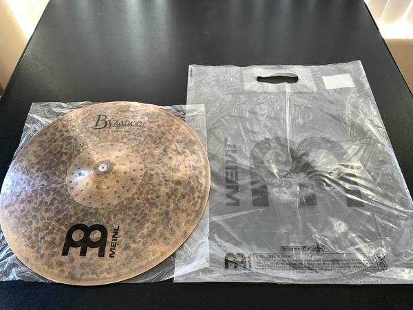 Photo BRAND NEW MEINL Hi-Hat cymbals. NEVER USED. - $450