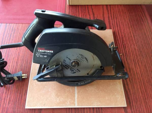 Photo Craftsman 7 14 Circular Saw - $10 (Gold Canyon)