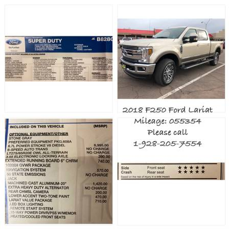 Photo F250 Ford Lariat - $58,000 (Snowflake)