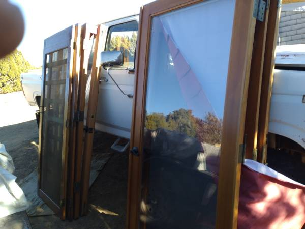 Photo Glass doors - $200 (Show Low)