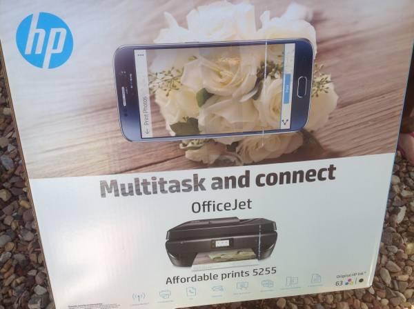 Photo Hp office jet 5655 printer - $20 (White mountain lake)