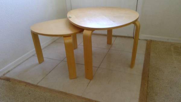 Photo Ikea Nesting Tables - $45 (Concho)