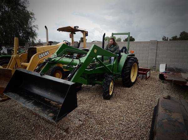 Photo John Deere 970 4WD Tractor (Call Us About Our Lay-A-Way Program Today)