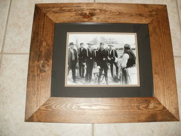 Photo John Wayne movie set prints framed - $69 (Rita Ranch, S.E. Tucson)