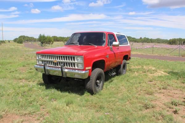 Photo K5 BLAZER 1981 - $6900 (SHOW LOW)