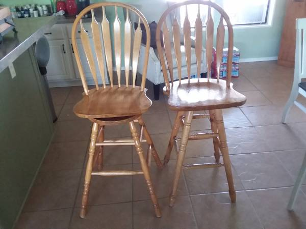 Photo Two bar stools - $50 (Show Low)