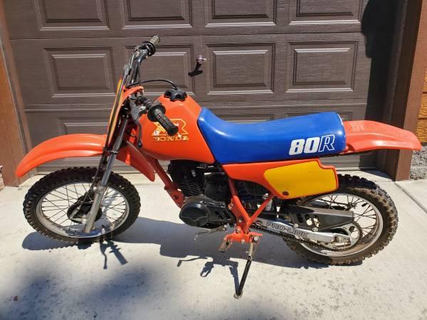 Photo Vintage 1986 Honda XR 80R dirt bike - $1,300 (Overgaard)