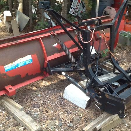 Photo Western Snow Plow with controls - $1,100 (Pinetop)