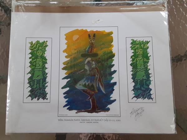 Photo White Mountain Native American Art Festival signed art - $30 (Pinetop Country Club)