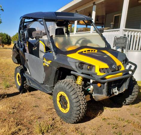 Photo Will trade 2012 Can-Am Commander for Jeep Wrangler - $9,500 (Springerville)