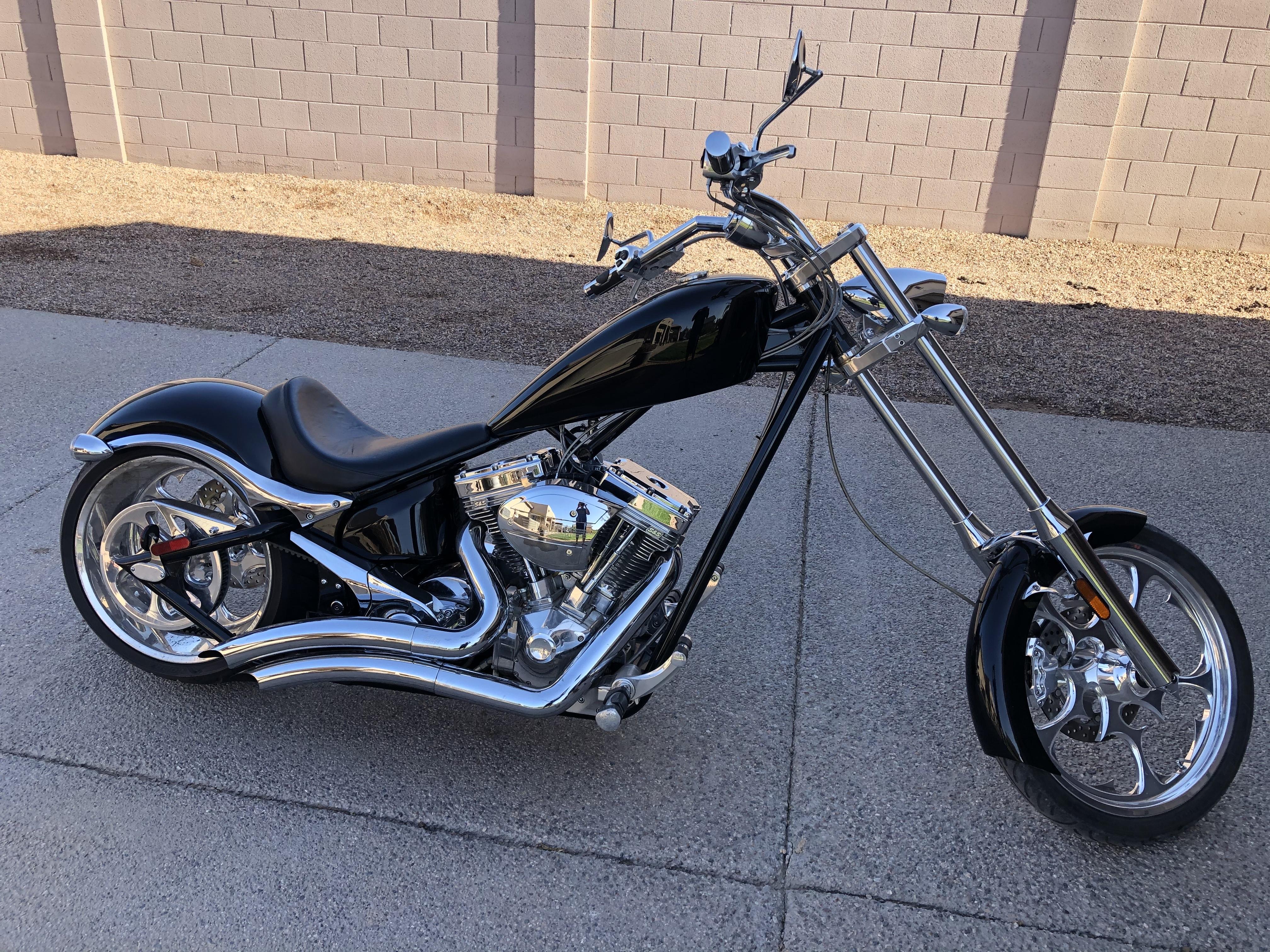 Photo Used 2007 Big Dog Motorcycles Custom Motorcycle  $15000