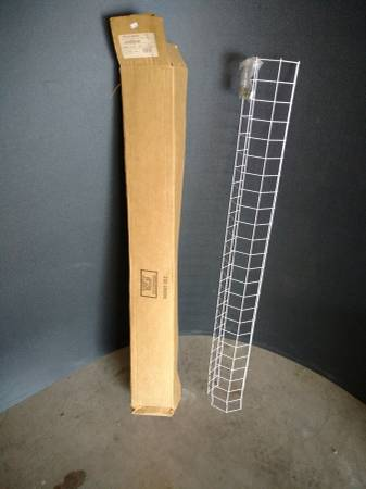 Photo white steel cage guards for fluorescent lights - BRAND NEW - see pics - $10 (deer valley)