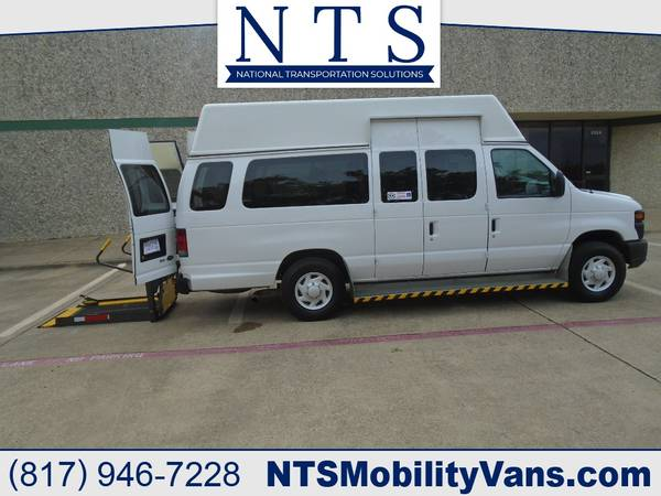 Photo 09 FORD E350 ADA VAN MOBILITY HANDICAPPED WHEELCHAIR LIFT FULLY SERVIC - $11950 (Irving, TX)