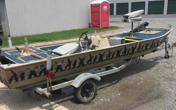 Photo 1539 Fisher Marine Jon boat - $1500 (BOSSIER CITY)