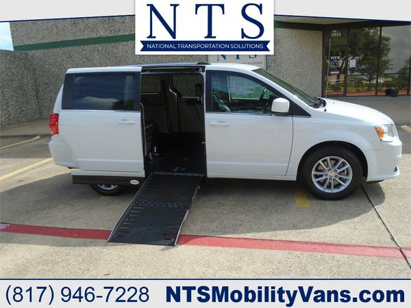 Photo 18 DODGE GRAND CARAVAN MOBILITY HANDICAPPED WHEELCHAIR POWER RAMP VAN - $28900 (Irving, TX)