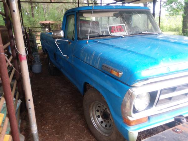 Photo 1971 ford pickup truck body - $2600