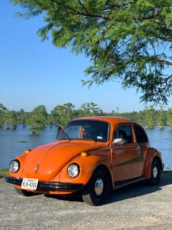 Photo 1973 VW Super beetle bug - $8,500 (Barksdale AFB)