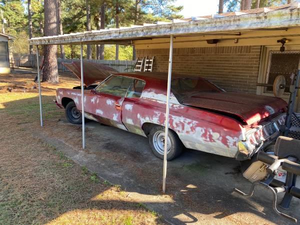 Photo 1973 impala project car - $4,500 (Shreveport)