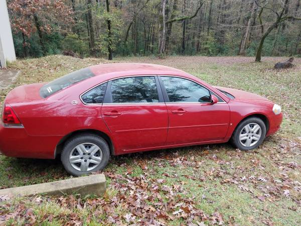 Photo 2008 Chevy Impala LS - $4,000 (North Shreveport)