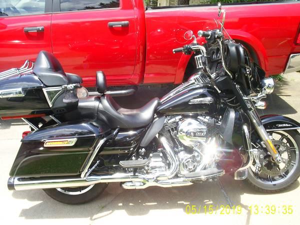 Photo 2014 Harley Davidson Ultra Classic for sale - $14,000 (Atlanta Texas)