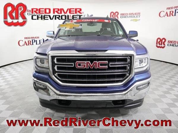 Photo 2017 GMC Sierra 1500 truck SLE - Blue (GMC_ Sierra_ 1500_ truck_)
