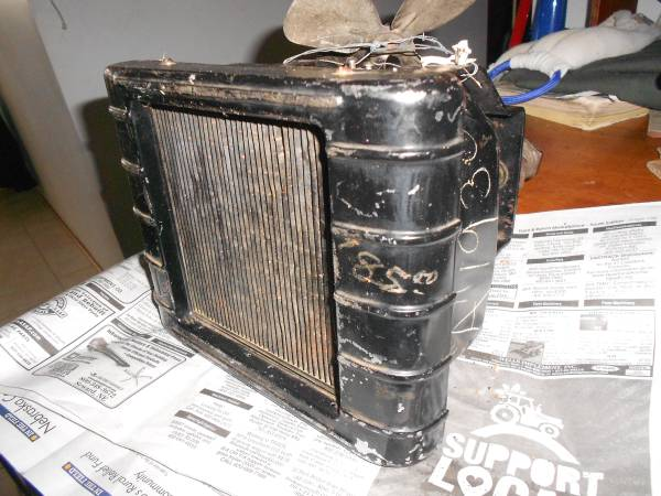 Photo Antique Car Heater 1930 Ford - $85 (Lincoln)