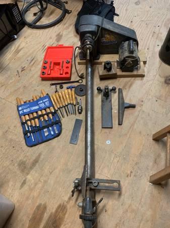 Photo Craftsman 12x40 wood lathe - $375 (Minden)