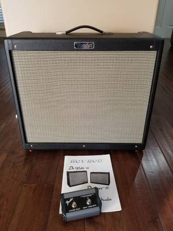 Photo Fender Hot Rod Deville IV 212 Guitar Amplifier EXCELLENT CONDITION - $675 (Tyler)