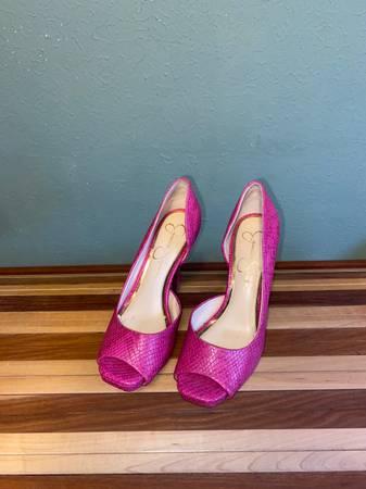 Photo Jessica Simpson Pink Heels 7.5W - $30 (Haughton)