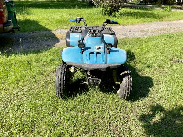 Photo Polaris 300 2 cycle will trade for riding mower atv runs great - $800 (Coushatta, Louisiana)
