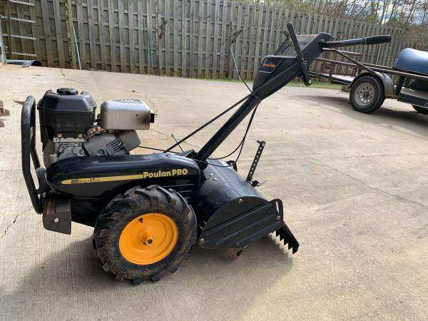 Photo Poulan Pro 850 Series 17 inch Tiller For Sale - $450