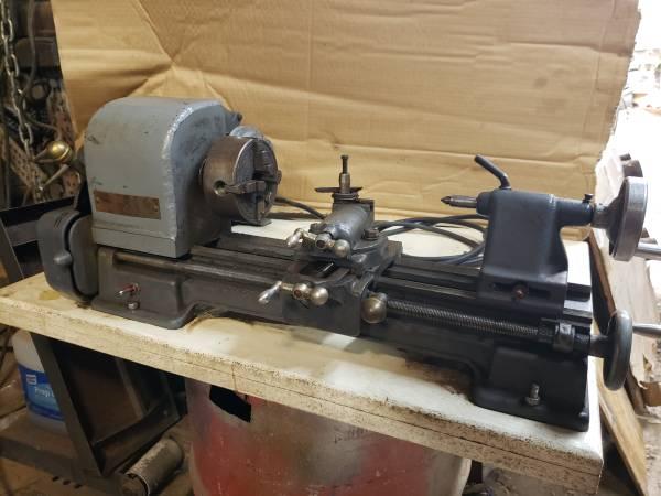 Photo Small Craftsman Lathe - $700