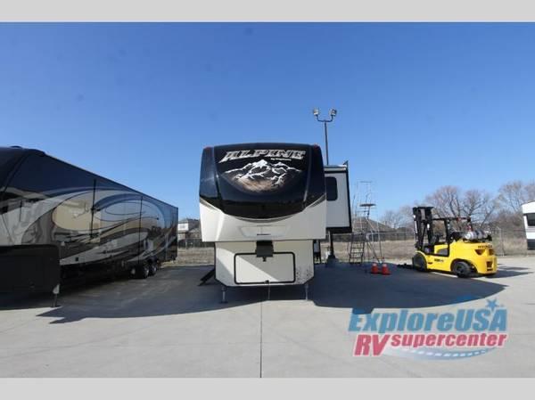 Photo USED 2017 KEYSTONE ALPINE 3301GR Fifth Wheel under 35 feet - $39995 (Call or text Waylon at 817-941-0326)