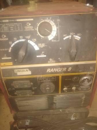 Photo Welder Lincoln ranger 8 225 - $1,200 (Shreveport)