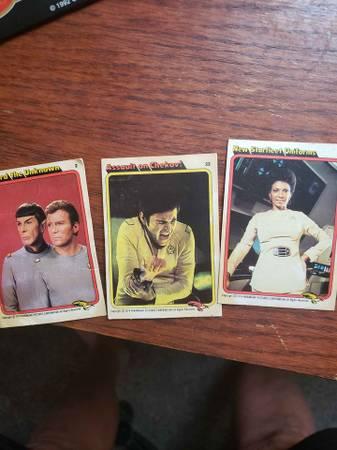 Photo 16 org.star trek trading cards 1979 see pics - $20 (sierra vista)