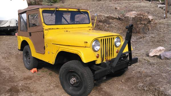 Photo 1967 Jeep CJ5 w OverDrive - $5600 (Bisbee)