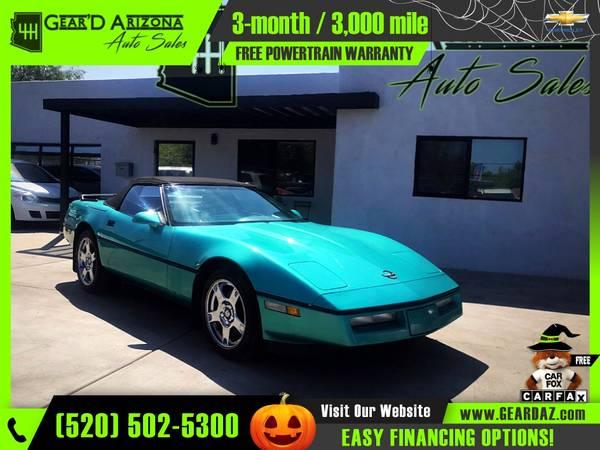 Photo 1990 Chevrolet Corvette for $9,995 or $154 per month - $12,995 (GearD Arizona - Tucson)