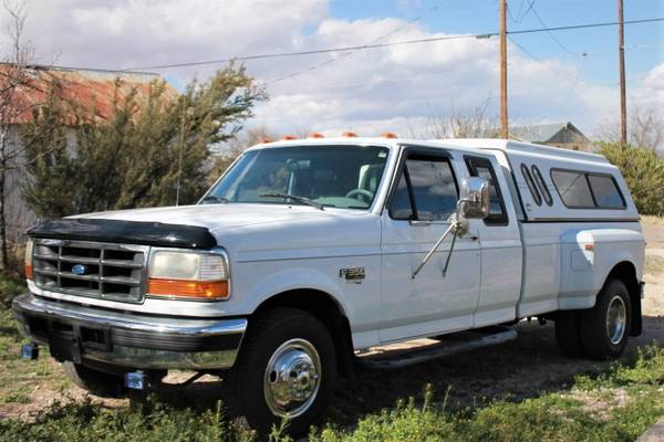Photo 1995 Ford F350 DRW XLT 7.3 Powerstroke Turbo Diesel 2WD - $8900 (Tombstone)