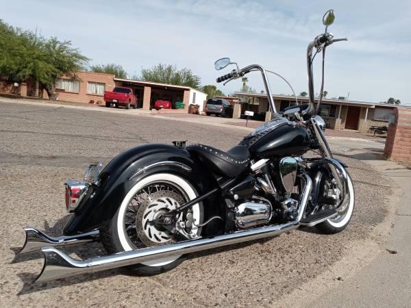 Photo 2003 yamaha roadstar 1600CC - $6,500 (Tucson, az)