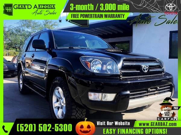 Photo 2005 Toyota 4Runner 4 Runner 4-Runner for $10,299 or $159 per mo - $10,299 (GearD Arizona - Tucson)