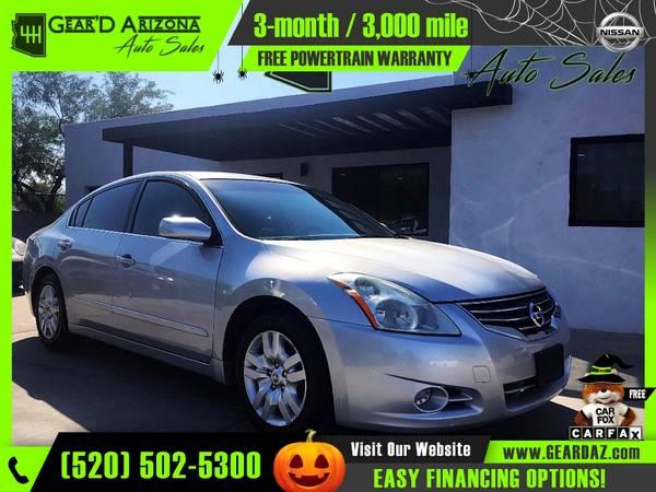 Photo 2012 Nissan Altima for $5,999 or $106 per month - $5,999 (GearD Arizona - Tucson)