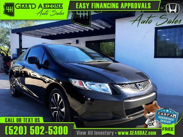 Photo 2013 Honda Civic for $7,999 or $136 per month - $7,999 (GearD Arizona - Tucson)