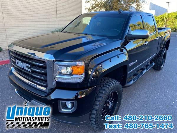 Photo 2017 GMC SIERRA 2500 SLT ALL TERRAIN EDITION  LIFTED  LOADED 6.0 V - $47,995 (DELIVERED RIGHT TO YOU NO OBLIGATION)