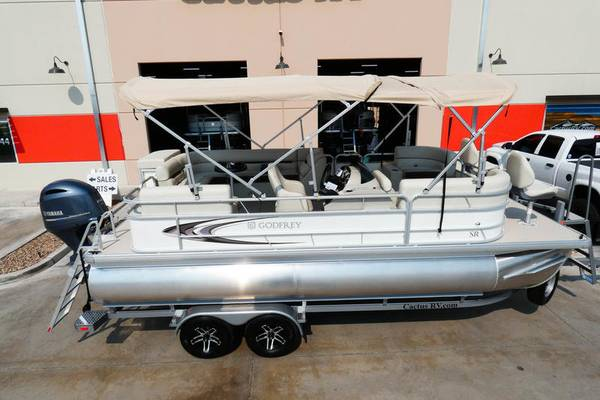 Photo $390 a month New 2021 Godfrey Pontoons SR 226 BF Fish model - $44,500 (Tucson)