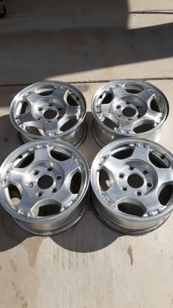 Photo 6-Lug Chevy Wheels - $165 (Hereford)