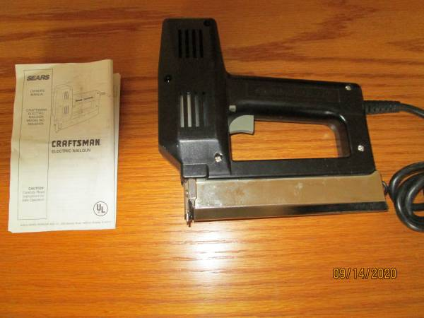 Photo Craftsman Electric Nail Gun - $20 (Sossaman and Guadalupe Rd.)