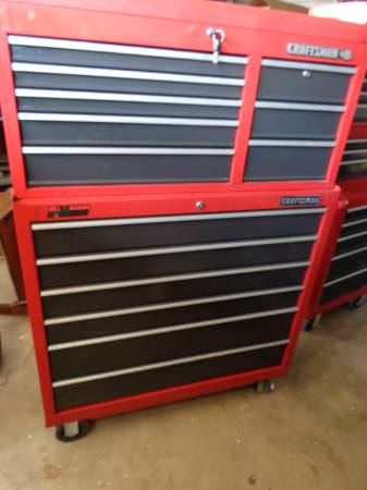 Photo Craftsman griplatch tool box 41quot with keys - $600 (scottsdale)