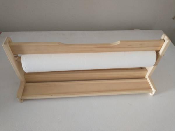 Photo IKEA MALA Paper Roll Holder Tabletop Drawing Dispenser wit - $15 (Sierra Vista)