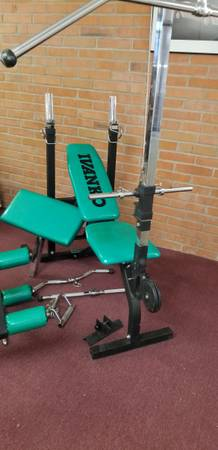 Photo Ivanko multi purpose weight bench - $500 (Sierra Vista)