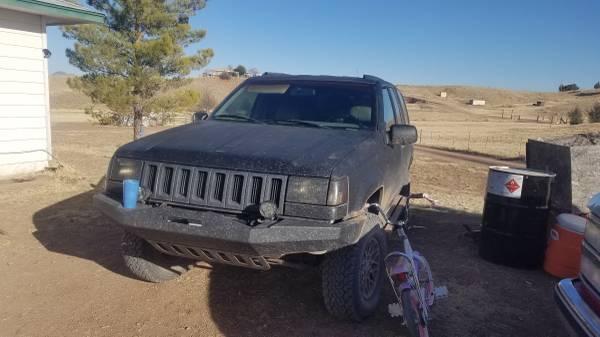 Photo Jeep grand cherokee zj off road parts obo - $3,000 (Sonoita)